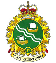 37 Canadian Brigade Group Badge