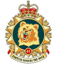41 Canadian Brigade Group Badge