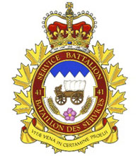 41 Service Batallion Badge
