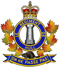 Régiment de Hull badge