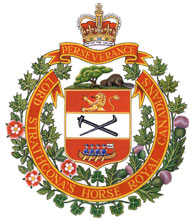 Lord Strathcona's Horse (Royal Canadians) Badge
