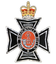 The Brockville Rifles crest