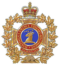 Insigne du The Hastings and Prince Edward Regiment