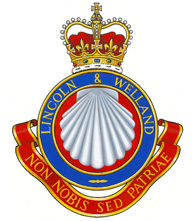 Insigne du The Lincoln and Welland Regiment