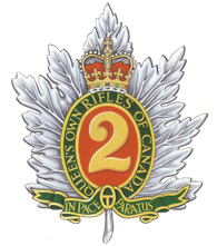 Insigne du The Queen's Own Rifles of Canada