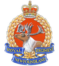 1st Battalion, The Royal Newfoundland Regiment Badge