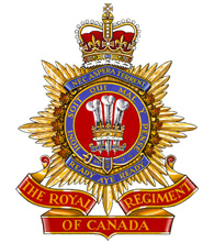 The Royal Regiment of Canada crest