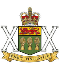 Ensigne du The Saskatchewan Dragoons
