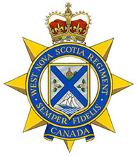 The West Nova Scotia Regiment Badge