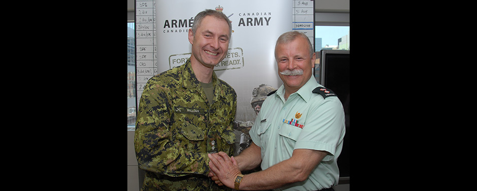 Slide - LCol Mailloux and LCol DesAutels