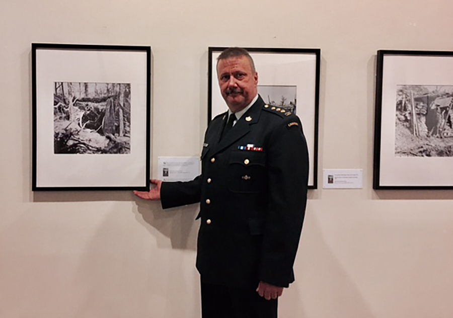 Captain Greg Gallant, curator of The Prince Edward Island Regiment Museum