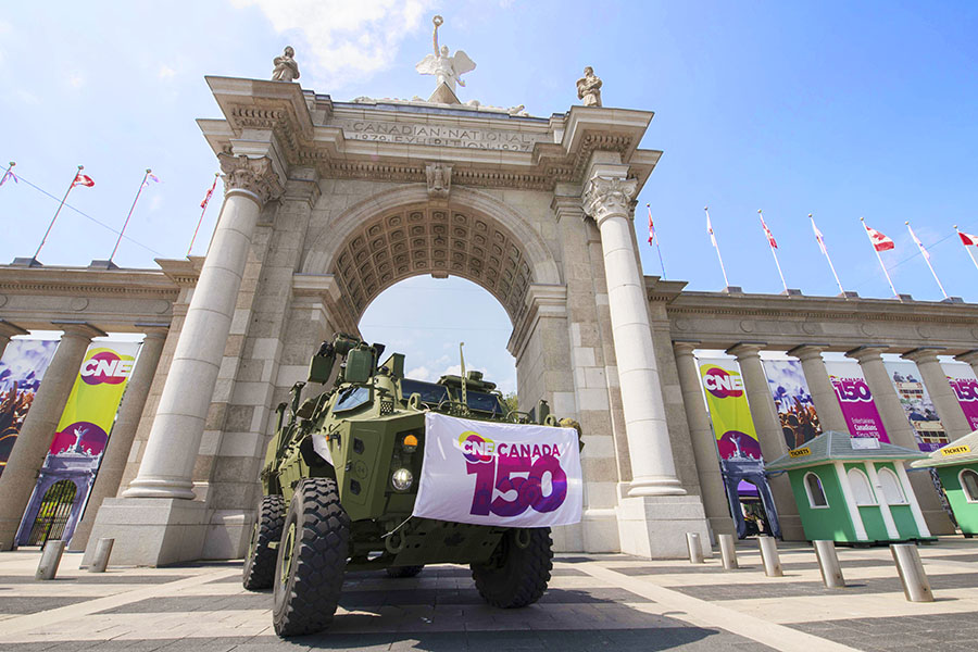 The Canadian Armed Forces continues to be a part of the Canadian National Exhibition