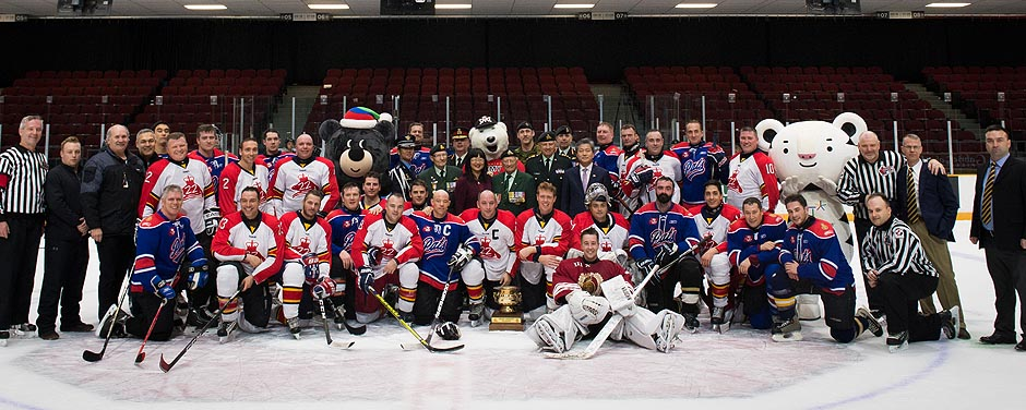 Slide - Participants from the 2017 Imjin Hockey Classic