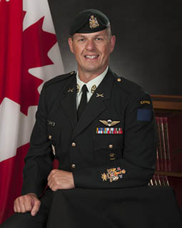 Chief Wrrant Officer Luc Lacombe, Sergeant Major 5 Canadian Mechanized Brigade Group