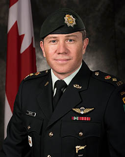 Commandant, 3e Bataillon, The Royal Canadian Regiment