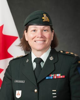 Lieutenant-colonel Maureen Wellwood